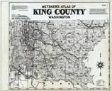 Index Map, Title Page, King County 1936